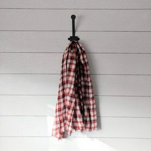 GAP Plaid Cotton Neck Scarf